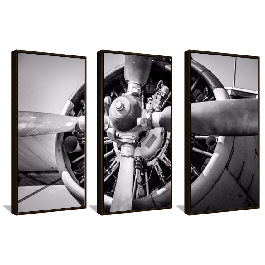 selling Wall Plane Picture Printed On Canvas Wall Art Painting Home Decor Living Room The plane poster Unframed FA299