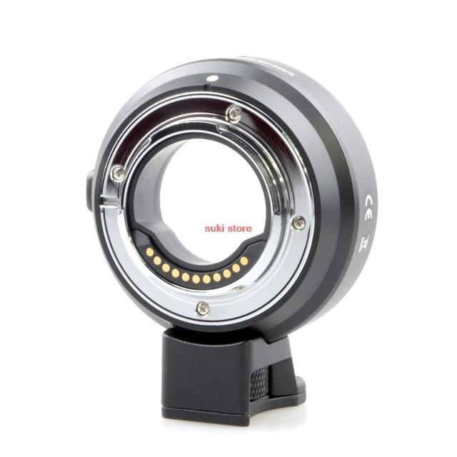 2016 nuevo adaptador de enfoque automático af para canon eos ef lente para micro 4/3 mount mft om-d g6