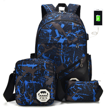 Backpack Student College Waterproof Nylon Backpack Men Women Material Escolar Mochila Quality