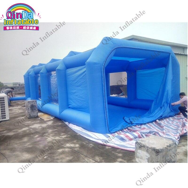 9 м * 4 м * 3 м портативный надувные спрей надувная палатка автомобиля распылительная камера