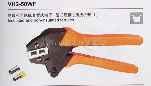 все цены на 1 Piece Ratchet crimping plier VH2-50WF high quality 25,25,50 Square mm2 онлайн