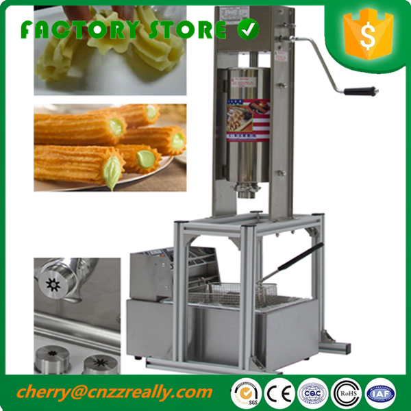 Stainless steel 5L Manual Spanish Donut Churros filling machine