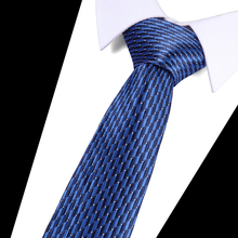 High Quality Men Ties Cravatas 7.5 CM Wide Striped Tie New Fashion Luxury Silk for long Solid Male Neck