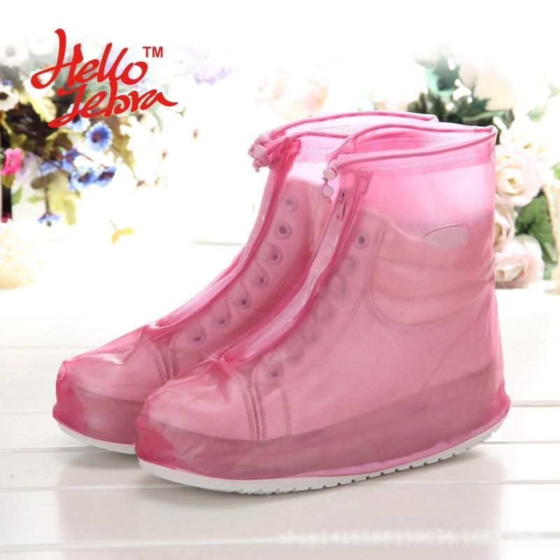 New Women Rain Shoes Covers Solid Rain Boots Waterproof Casual Non-slip Antifouling Platform Lady Rain Boots 2016 Design Fashion dali zensor 5 black ash