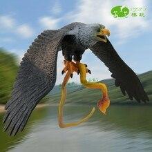 Украшения поделки фигурки миниатюры моделирование пластик Орел Модель птицы