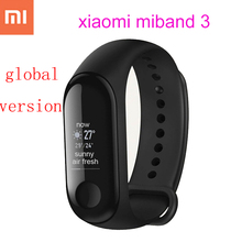 Original xiaomi mi band 3 mi band 2 global version smart bracelet wristband heart rate monitor fitness tracker xiao mi smartband