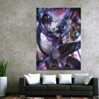 Home Decor Modular Canvas Picture 1 Piece Sexy Widowmaker Overwatch Game Painting Poster Wall For Home Canvas Painting Wholesale