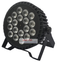 New Professional LED Stage Lights 180W Flat Led Par Light 18x12W RGBW Par Led DMX Lighting