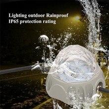 лучшая цена LED Wall Lighting Full Color Point Source DMX512 Park Bridge Lighting 5W DC 24V Outdoor Waterproof Landscape Light Highlight
