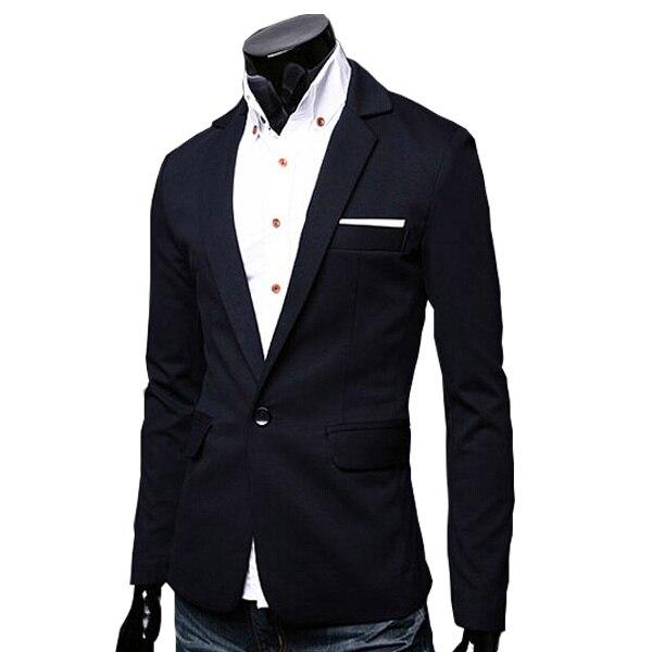 2015 Neuheiten Blazer Männer Blazer Masculino Mann Mode Dünner Blazer 5 Farben Größe M-2xl Reinweiß Und LichtdurchläSsig