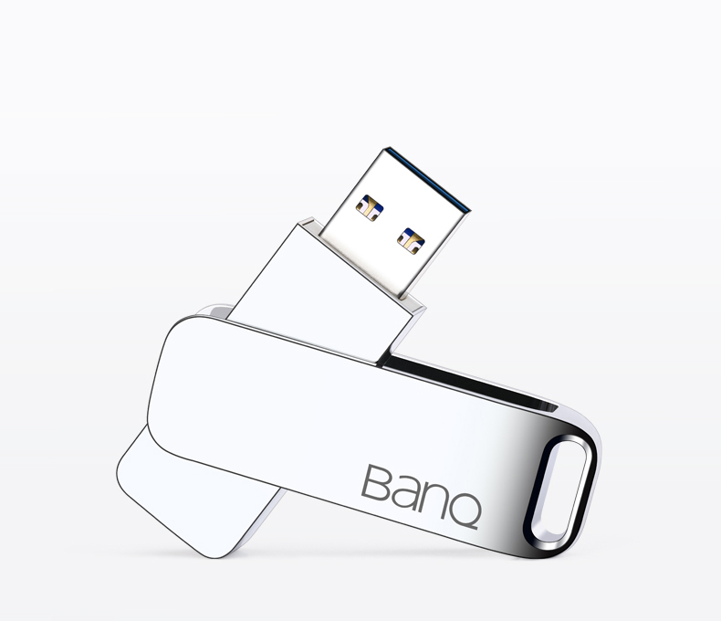 BanQ MAX USB Flash Drive 64G Metal Pendrive High Speed USB3.0 Memory Stick 128G pen Drive Real Capacity 256G USB Flash U disk32G