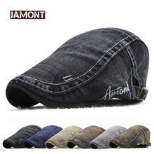 Винтажные мужские хлопковые кепки jamont для газетчика мужчин