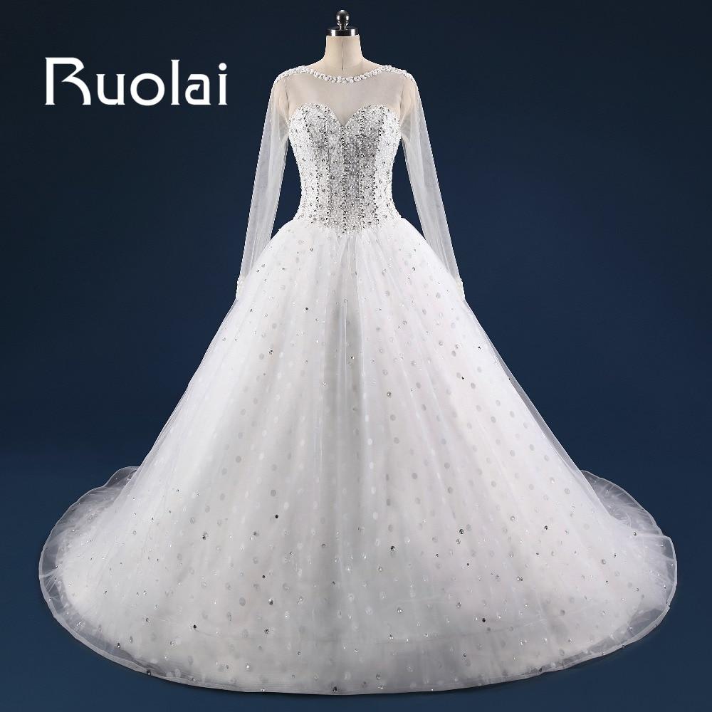 Hot sale Stunning Ball font b Gown b font font b Wedding b font Dress 2017