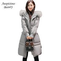 2017 New Winter Collection Women Down Coat Jacket Warm High Quality Women Slim Female Thickening Big