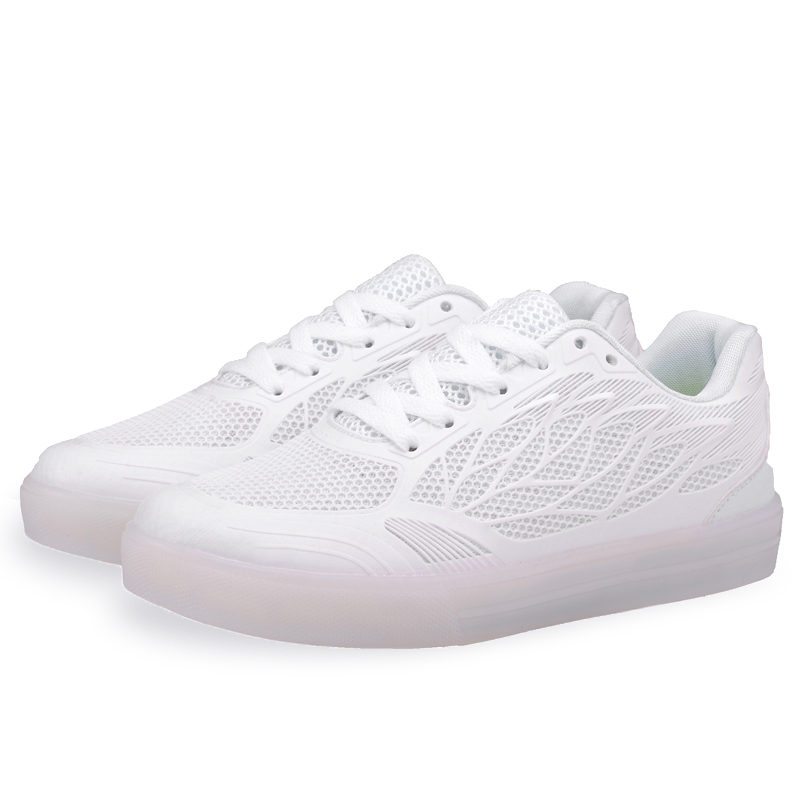 Girl Led Sneakers Light Up Flashing Shoes leather Upper TPR Sole Summer Casual Children Shoe Women USB Rechargable Light Shoes
