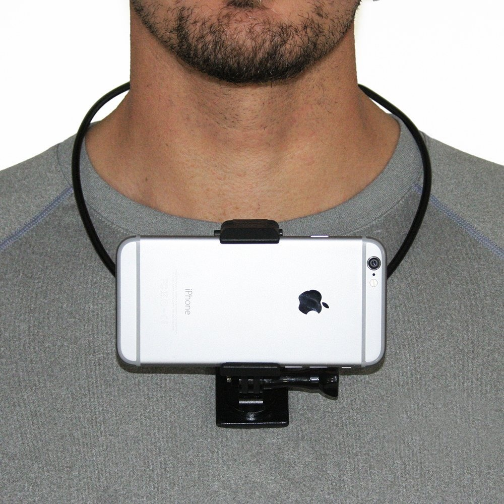 Ongebruikt Portefeuille Wearable Smartphone Mount with Phone Holder POV For YL-92