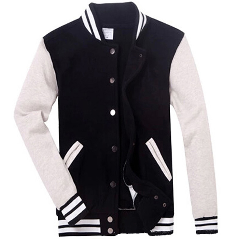 Popular Black College Jacket-Buy Cheap Black College Jacket lots ...