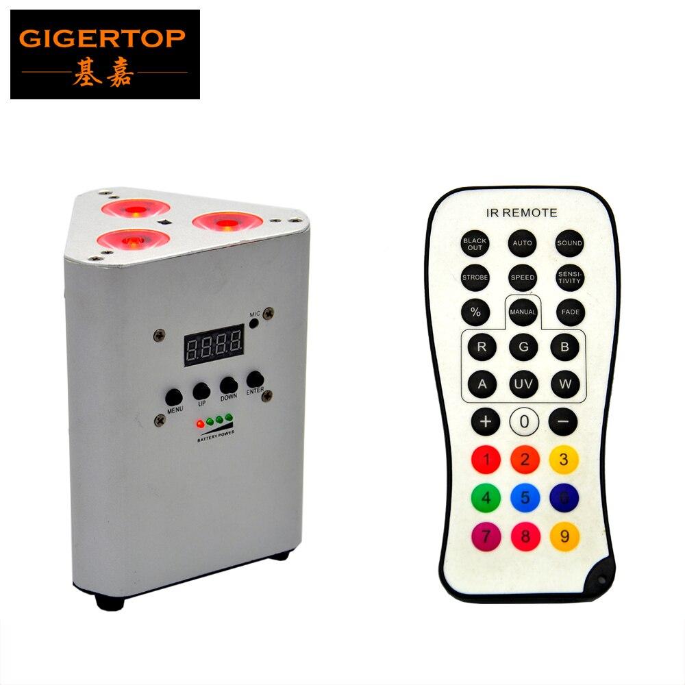 TIPTOP TP G3047 4IN1DJ Freedom Par, встроенный инфракрасный датчик, перезаряжаемая батарея, DMX, 4 в 1, RGBW, 3*10 Вт, LED Par Light