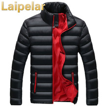 купить Laipelar Winter Jacket Men 2018 Fashion Stand Collar Male Parka Jacket Mens Solid Thick Jackets and Coats Man Winter Parkas Coat по цене 1688.89 рублей