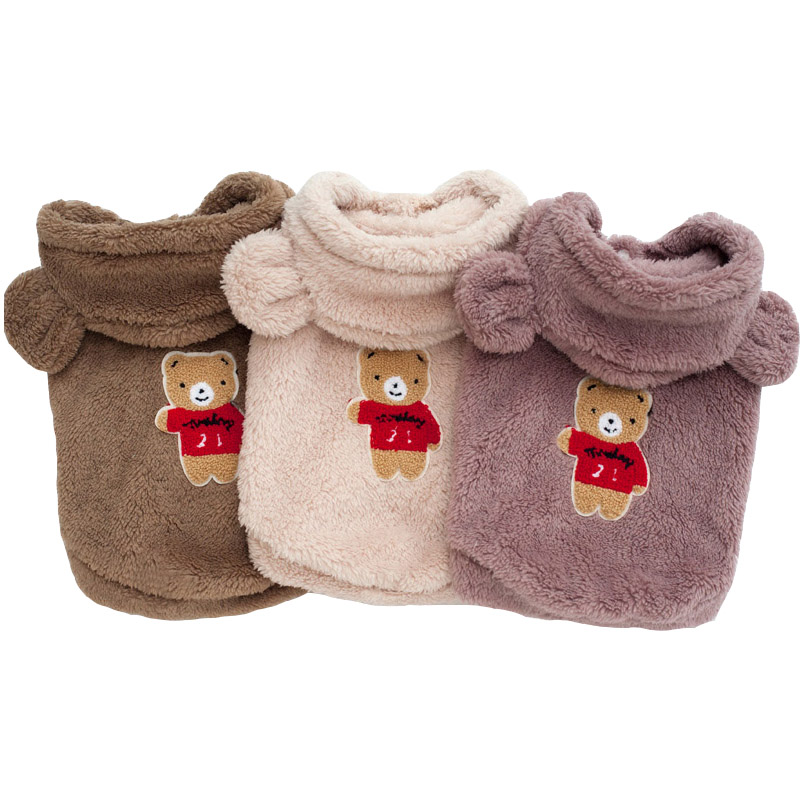Fleece Pet Dog Clothes Winter Soft Dogs Clothing For Small Medium Dogs Chihuahua Cheap Cat Dog Clothes Puppy Oufit Ropa Perro