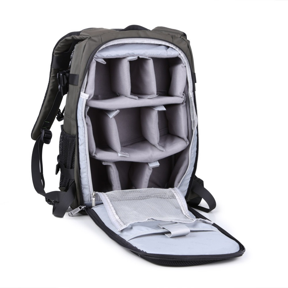 Waterproof Oxford Professional Gear Photography Backpack Camera Bag Large Size for Canon Nikon SLR Cameras With Rain Cover бра a8777ap 1wg atlas neo arte lamp 1007392