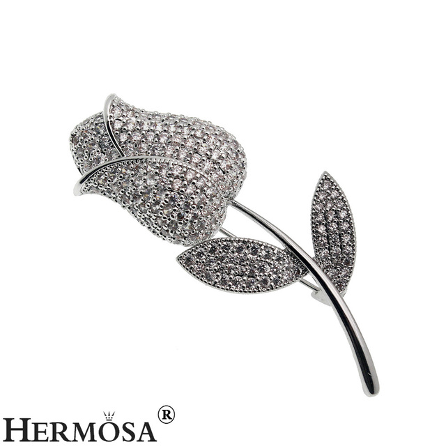 HERMOSA WOMEN JARED JEWELRY 2017 New Design Rose Floral Style