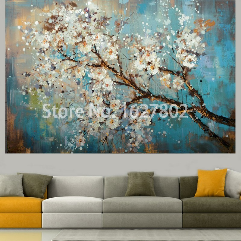 Online Shop Hand Painted Modern Wall Oil Painting Beautiful ...