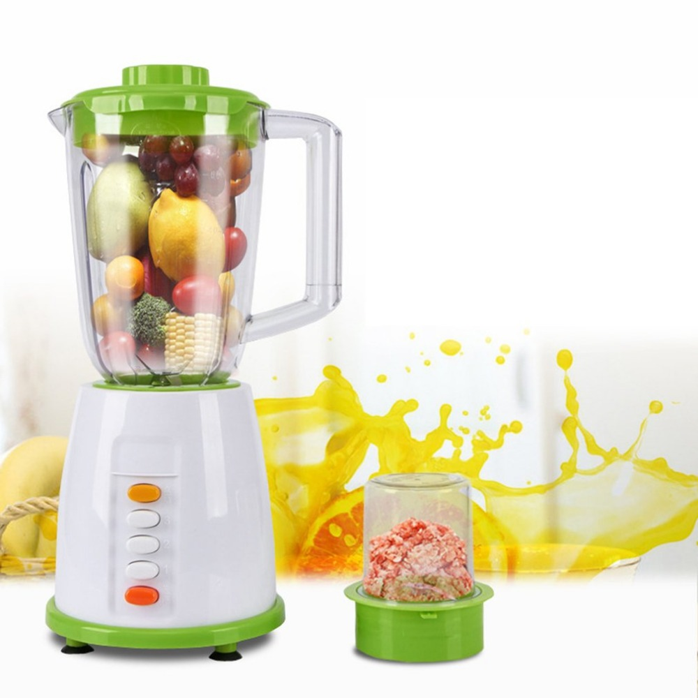 Home Professional Fruit Vegetables Mixer Juicer Food Processor Meat Mixer Blender Smoothies Soymilk Power Blender double commercial milk shake blender professional power blender mixer juicer food processor