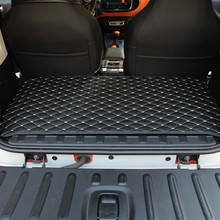 Car trunk mat for Mercedes new Smart forfour 453 fortwo 451 interior anti-dirty pad interior accessories decorative leather rug