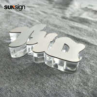 Waterproof Halo lit sign letter/Reverse Stainless Steel Letter