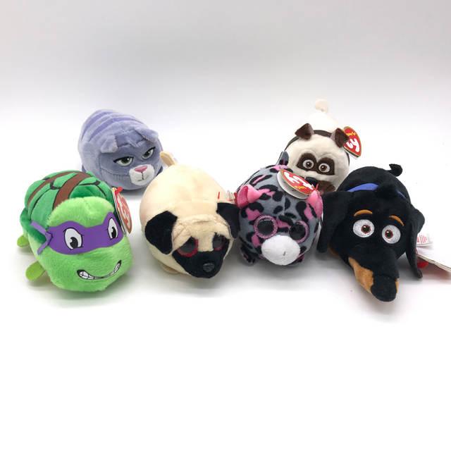 4749bf3d9ef Limit Sale 1pcs Ty Beanie Boos Original Big Eyes 8cm TSUM TSUM Dog Cats  Pigs Pets