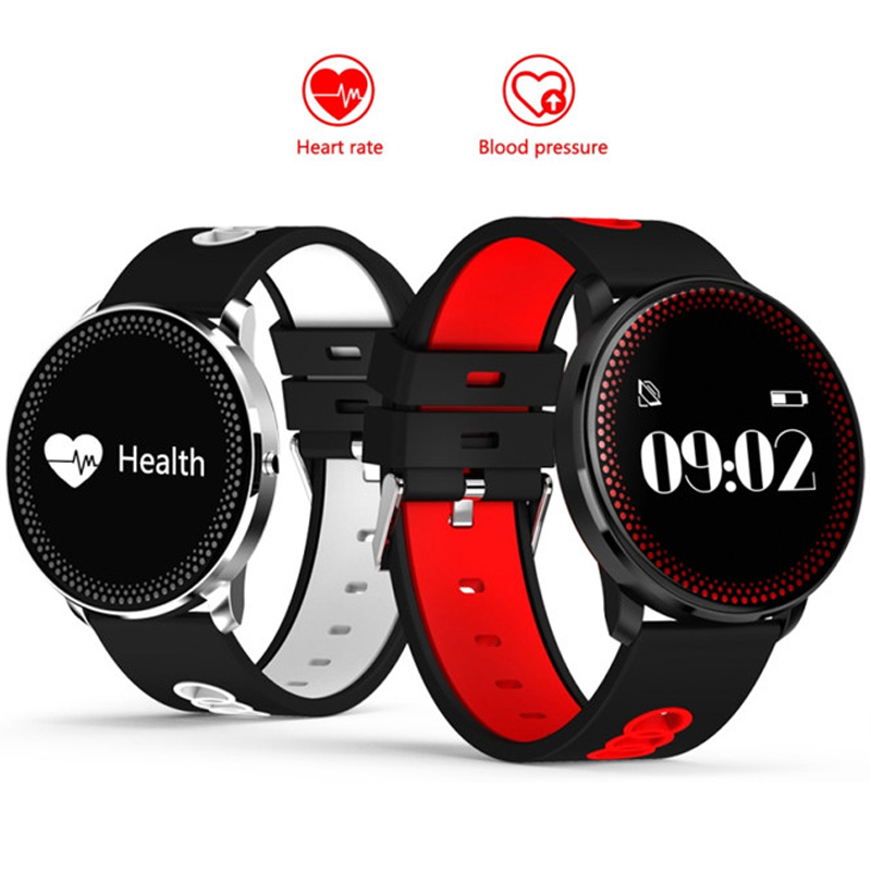 New Heart Rate Blood Pressure Monitor Sports Smart Watches Barometer Watch Alarm Clock Fitness Tracker CF007 Bracelet for Phone