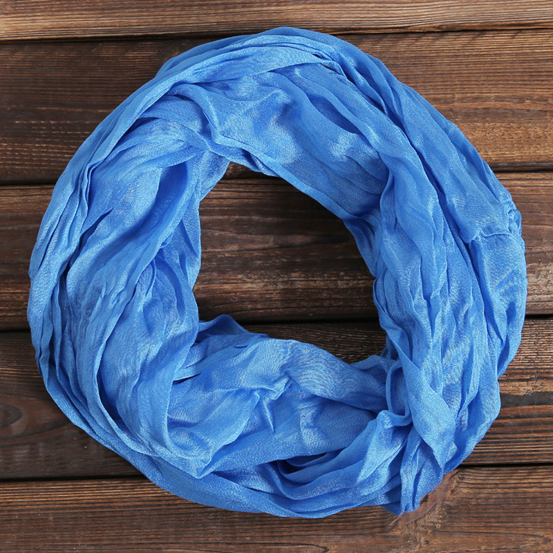 New Fashion Unisex Womens Ladies Men's Winter Circle Loop Cowl Infinity   Scarf   Snood Hijab Foulard Sjaal   Scarves     Wraps   WJ8053