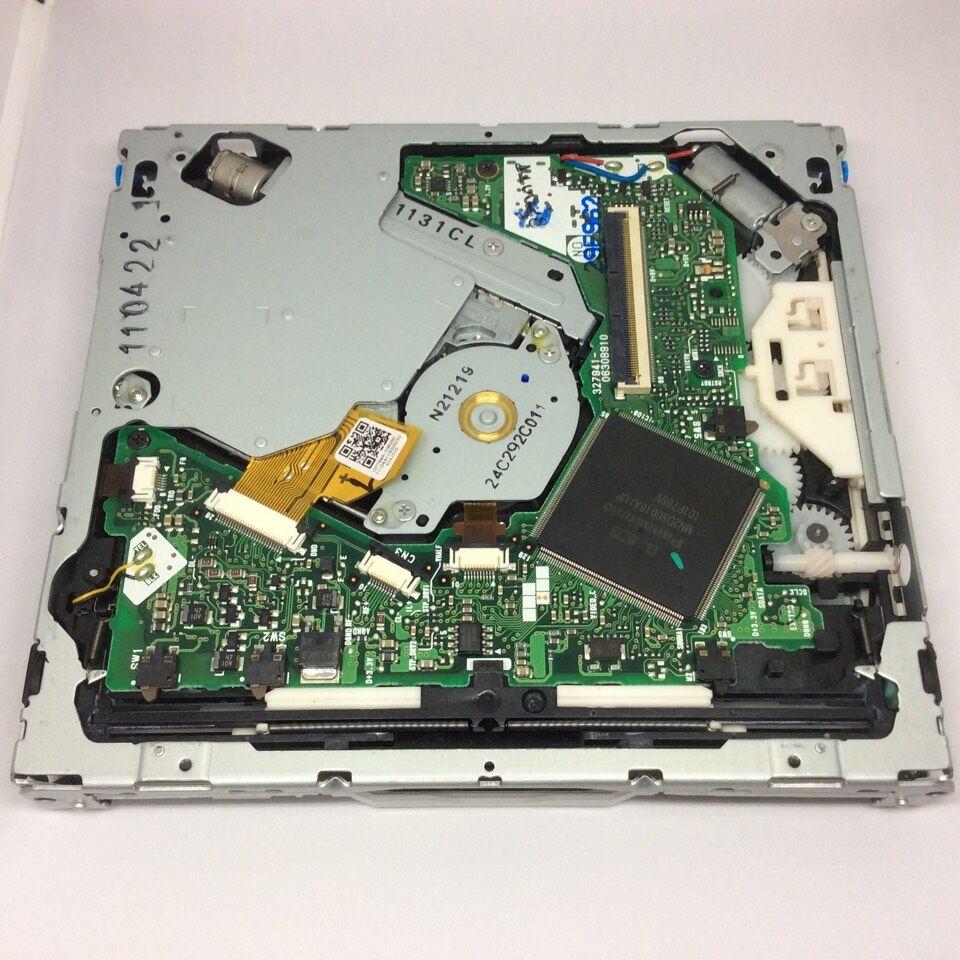 Fujitsu Ten DV-05 DV-05-09E DV-05-17 DVD Loader Navigation Mechanism for Audi VW Mercedes Car Audio GPS OPTIMA-2060 laser
