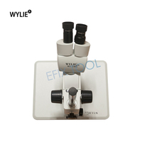 WL 240A 20X/40X Stereo Microscope Binocular HD Vision For PCB Solder Phone Repair Tool