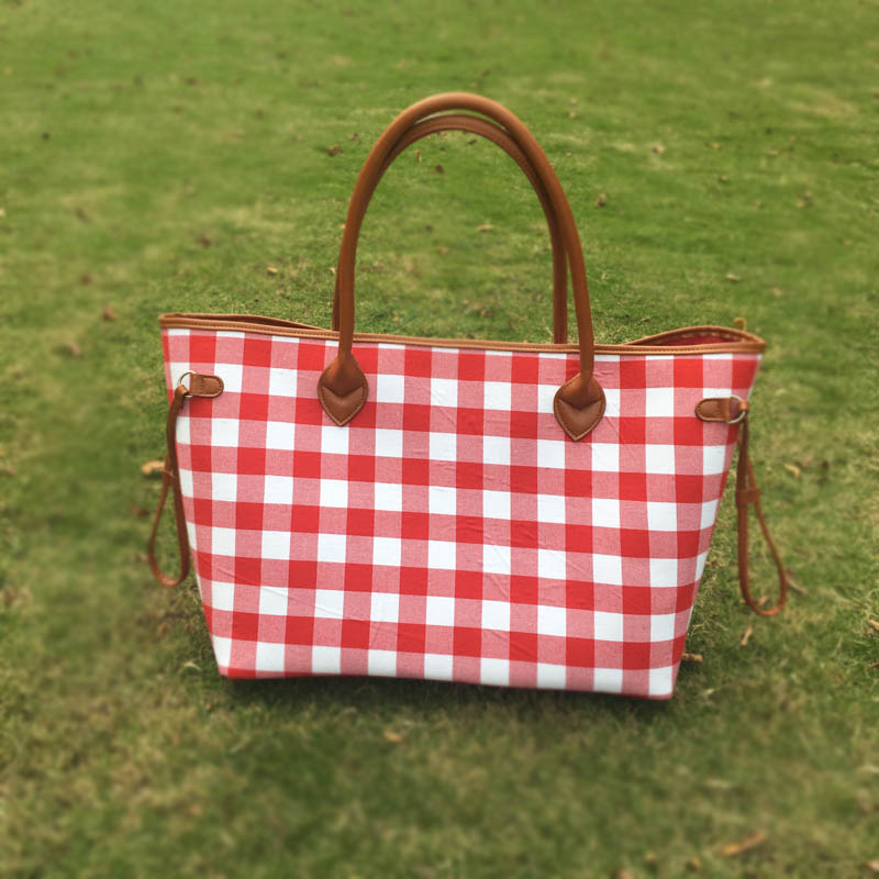 Compare Prices on Checked Shopping Bag- Online Shopping/Buy Low ...