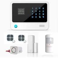 Free Shipping G90B Plus WiFi GSM Wireless Wired Security System Alarm System APP Control with 99 Wireless Zone