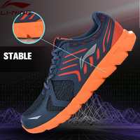 Li Ning Men Arc Element Running Shoes Light Weight LiNing Sports Shoes Wearable Cushion Sneakers ARHM023