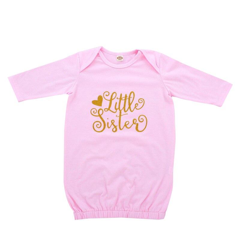 Floral Schwein Baby Familie Passenden Schlaf Sack Romper Neugeborenen Baby Mädchen Kleine Schwester Drucken Langarm Rosa Schlafsäcke Umschlag Novel (In) Design;