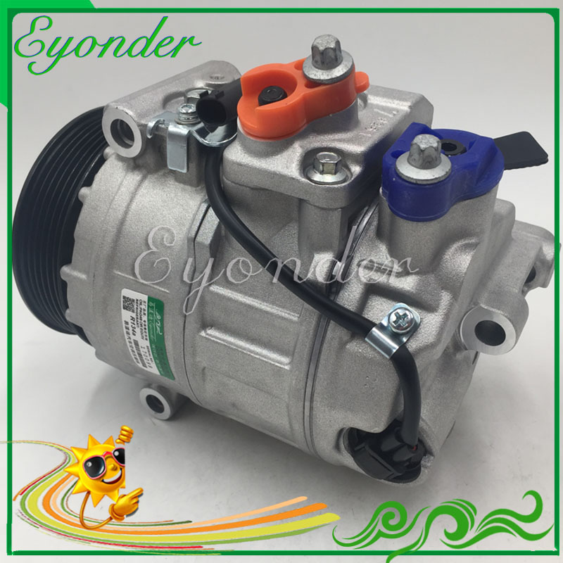 7SEU17C AC A/C Compressor Cooling Pump for MERCEDES BENZ C-CLASS R230 SL55 SL550 VIANO W639 VITO MIXTO Bus 2.0 2.2 0012301411 a bus for miss moss