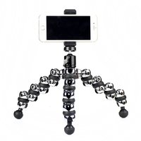 Camera Flexible Octopus Tripod Cell Phone Octopus Holder For Iphone 5 6s 7 Samsung XIAOMI Canon