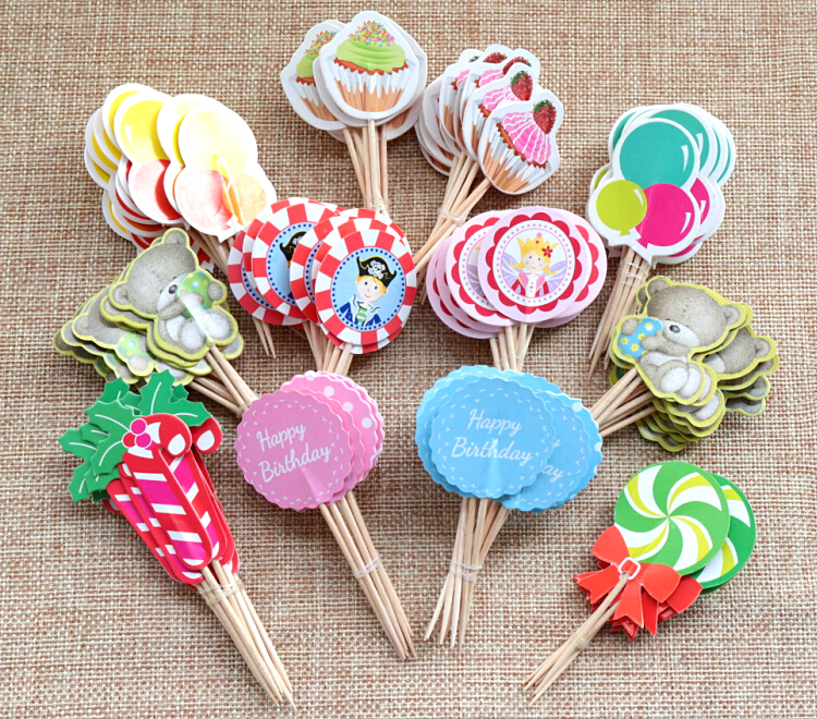 Baby Shower Cupcake Picks Decoration : Online Buy Wholesale candy bar from China candy bar ...