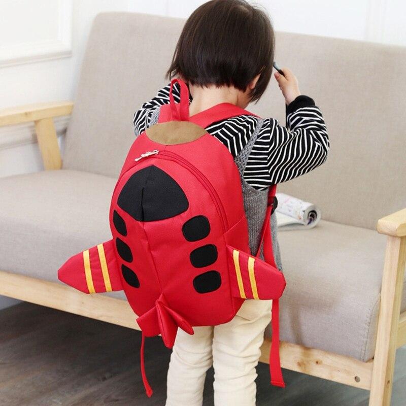Самолет в форме школа 102501 дети рюкзак прекрасный детей элегантный дизайн ученические рюкзаки