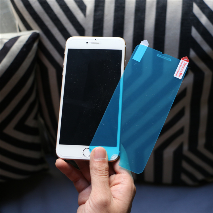50pcs/lot New Nano Anti Shock Soft Explosion Proof Membrane Tempered glass Screen Protector for iphone 6/6s 4.7