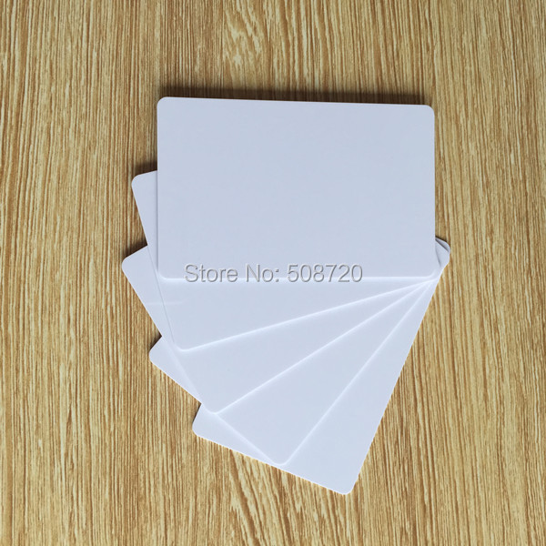 125khz em4100 door entry access blank white proximity rfid clamshell thick card thickness 1 9mm pack of 10 125KHz EM4100 Proximity Door Access Control Entry blank white rfid card