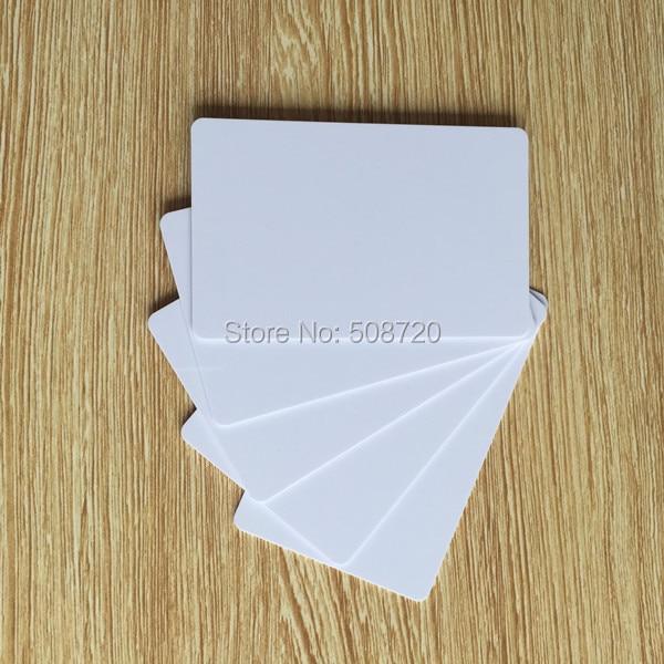 125KHz EM4100 Proximity Door Access Control Entry blank white rfid card turck proximity switch bi2 g12sk an6x