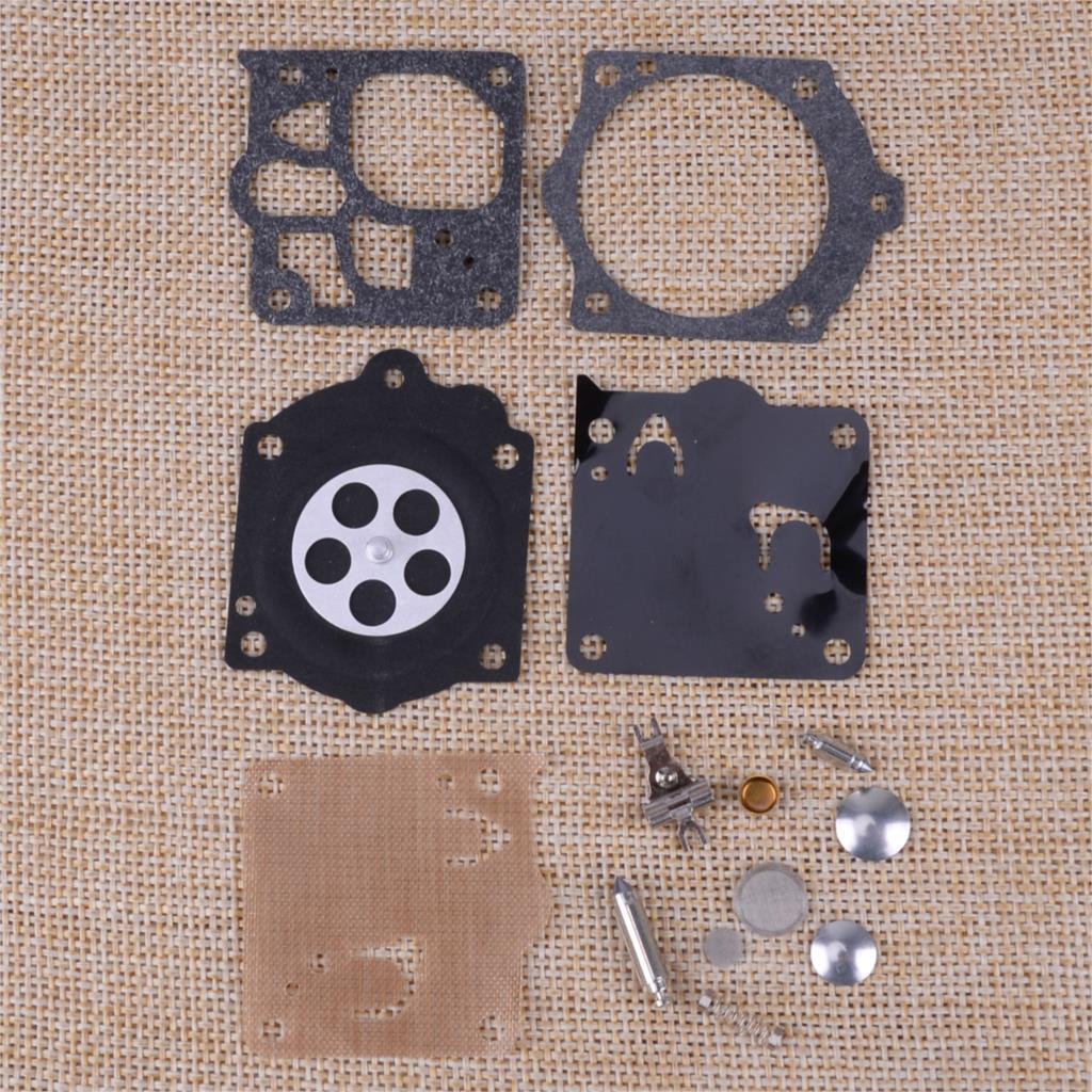 13pcs/pack Carburetor Carb Diaphragm Repair Rebuild Kit WJ-71 Fit For Husqvarna 394 394EPA 394XP Chainsaw
