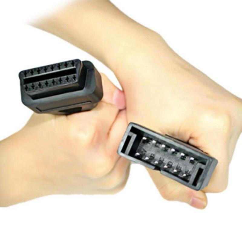 KWOKKER Автомобильный цифровой инструмент Соединительный шнур для g-m 12 Pin 12 Pin OBD 2 коннектор адаптер автомобильный диагностический удлинитель 16...