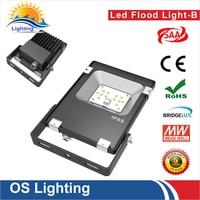 20 шт./лот ультратонкий Светодиодный прожектор IP65 водонепроницаемый 30 Вт 220 В прожектор открытый бра сад проектор
