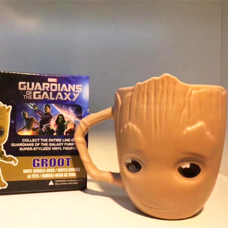 Guardians of the Galaxy Baby Groot Goblet Mug Cup taza groot costume props